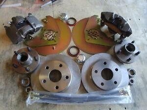 1963 1964 1965 1966 Ford Falcon 5 Lug Front Disc Brake Fits Orig 14 Wheels