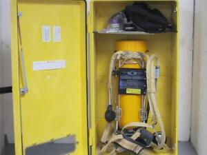 Scott Tc 3hwm 153 Air pak 30 Min Scba Kit W Encon Wall Cabinet 2