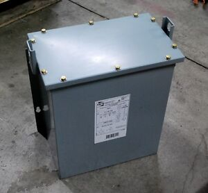 Hammond Power C3f006dbs 240v 6kva Commercial Potted Distribution Transformer