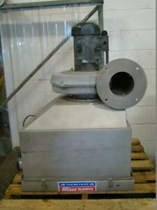 Chicago 3hp Centrifugal Blower W Disconnect 1200 Hblds3 0310580 286563 5