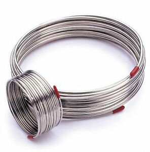 2m 304 Stainless Steel Flexible Hose Outer Diameter 4mm Gas Liquid Tube Gy
