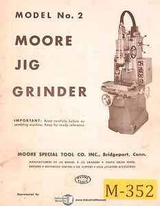 Moore No 2 Grinder Operations Maintenance And Parts Manual