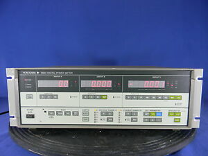 Yokogawa Electric 2533 11 10hz To 20khz Dc Digital Power Meter 30 Day Warranty