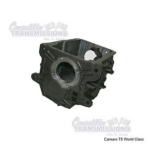 T5 Wc Transmission Case Chevy Camaro World Class 5 Speed 4 Ear Early Type Used