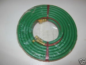 1 4 Twin Oxy Fuel Gas Welding Hose Grade T 25 Foot