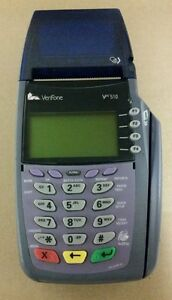 Verifone Vx510 Dial Credit Card Terminal With Warranty