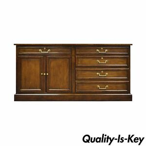Vintage Baker Furniture Collector S Edition Mahogany Credenza Cabinet Sideboard