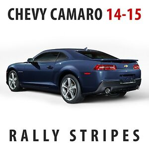 Chevrolet Camaro Rs Rally Racing Stripes Decal Kit Pre Cut 2014 2015