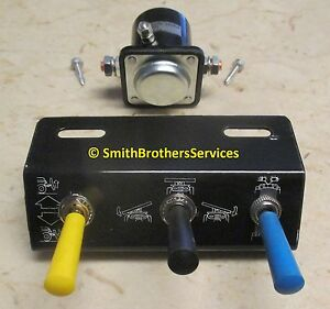 Meyer Plow Toggle Switch Control Package E 47 E 57 E 60