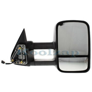 Chevy Truck Power Heated Telescopic Performance Tow Mirror Right Passenger Side
