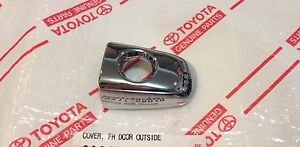 new Toyota Tacoma 2013 2014 Driver Front Door Chrome Handle Cap Cover Oem