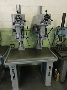 Clausing Twin 20 Variable speed Drill Press