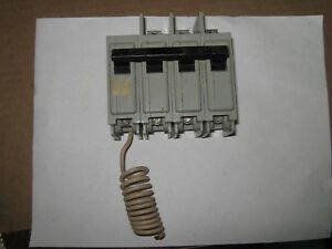 Ite Type Eq p 3 Pole 50 Amp Circuit Breaker With 120v Shunt Trip Used