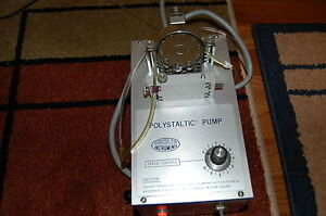 Buchler Polystaltic Peristaltic Pump Drive Variable Speed High Low