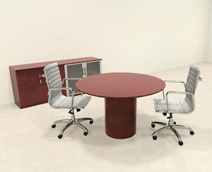 Modern Contemporary Round Conference Table ro nap c33