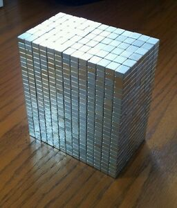 200 Neodymium Block Magnets Super Strong N50 Rare Earth Magnets