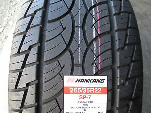 2 New 265 35r22 Nankang Sp 7 Tires 2653522 265 35 22 R22 35r