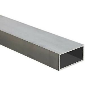 Alloy 6061 Aluminum Rec Tube 4 X 6 X 1 2 X 24 Long