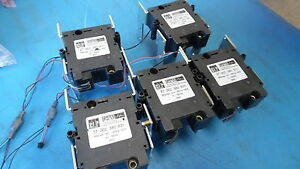 Lot Of 5 Blp Power Pulse Latching Relays 37 002 380 631 200 Amp 150v Dc