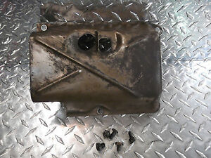 68 Jeepster Commando V6 Gm 225ci Engine Oil Pan Crank Windage Tray W Bolts