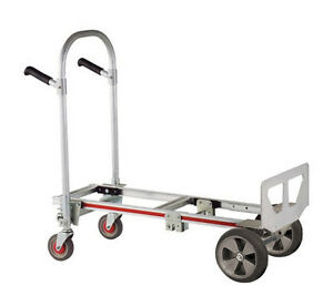Magliner Gemini Jr Convertible Hand Truck W 1030 balloon Cushion Tires