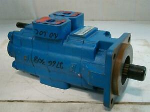 Permco Hydraulic Gear Pump 900rpm Jg33714pt 2766 0308