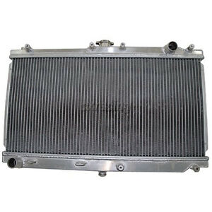 Cxracing Aluminum Radiator For 99 05 Mazda Miata Mt 26 X18 X2