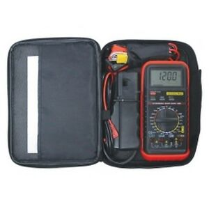 Deluxe Multimeter Kit Automotive Meter With Rpm And Temperature Esi585k New