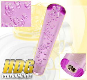For Dodge 8 Bubble Shift Knob Extender Interior Thread M8 M10 M12 Unit Purple