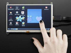 Adafruit Hdmi 7 Inches 800x480 Display Screen Lcd With Touchscreen Raspberry Pi