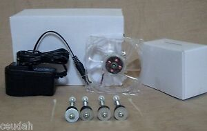 Clear Circulated Fan Kit Installation For Homemade Eggs Incubator Bigger Size