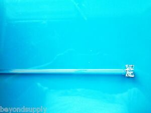 Lab Glass Overhead Stirrer Mixer Shaft Paddle Propeller 6mm New