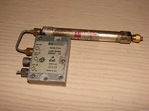 Hp Agilent 5086 7748 Low Band Microwave Mixer Assembly
