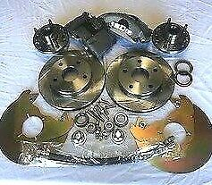 1964 1965 1966 Ford Mustang V8 Front Disc Brake Fits Orig 14 Wheels Xdrill