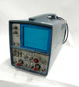 Tektronix T935a Oscilloscope 35 Mhz Analog Monochrome Display Two Channel