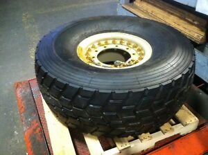 Sand Trail 450 80r20 Tire Military Tire Wheel Assembly Appears Unused Lot Of 4