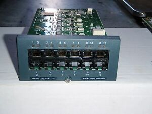 Avaya Ip Office 500 Analog Phone 8 Base Card 700417231 W atm4u 4 Port Co Card
