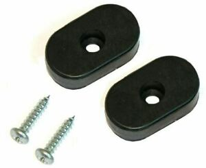 66 72 Gm A X B Body Interior Bucket Seat Frame Back Stop Rubber Bumpers W Screws