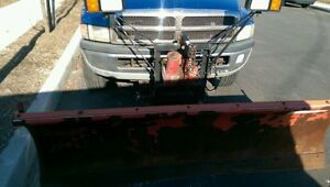Dodge Ram 1500 W Snow Plow As Is