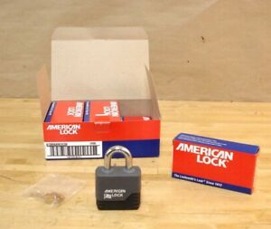 American Lock A1305karedcov Padlock Keyed Alike 3 4 Shackle Width Box Of 6
