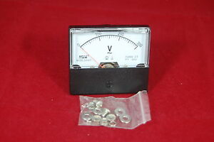 Ac 0 300v Analog Voltmeter Analogue Voltage Panel Meter 60 70 Directly Connect
