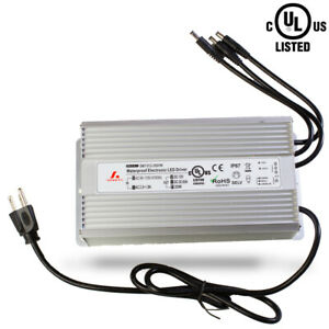 250w 12v Power Supply Waterproof Ip67 For Led Light Cctv With Dc Plug Ul Listed
