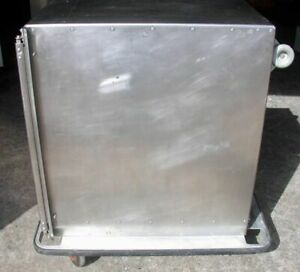 Commercial Stainless Steel 5 Food Tray Cart 27 w X 39 h X 38 d W 5 lock Casters