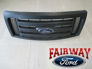 09 Thru 14 F 150 Oem Genuine Ford Parts Xl Model Black Grille Grill W Emblem New