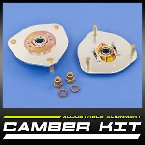 New Pair Left Right Front Camber Caster Kit 2 50 Evo Vii Viii Ix 7 9