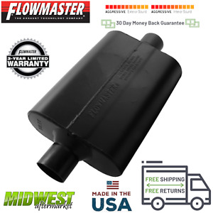 Flowmaster Super 44 Series Performance Muffler 2 5 Center In 2 5 Center Out