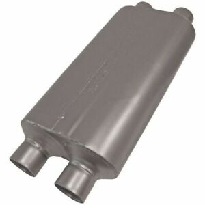 Flowmaster 50 Series Heavy Duty Muffler 2 5 Dual In 2 5 Dual Out