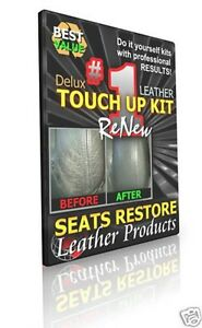 Volvo Nordkap Black Navy Leather Seat Skin Coloring Touch Up Kits S60r V70r