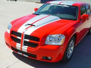 2005 2007 Dodge Magnum Force Ram Air Hood Fully Functional By Rk Sport 15011000