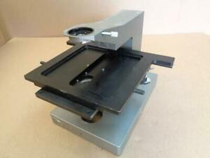 Olympus Bhmjl Microscope Focus Mount Stand W lamp Housing